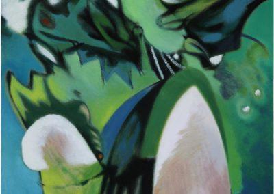 Green Rush 2008 43 x 42 cms