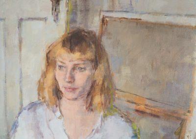 Imogen oil on canvas 60x45cm 2016