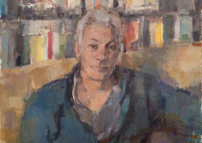 Paul oil on canvas 76x56cm 2015jpg