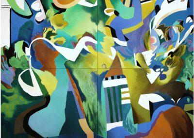 Quartet 2008 122 x 163 cms