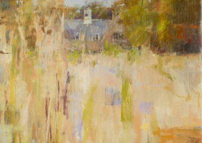 The Clocktower. oil on canvas 40x30cm 2016