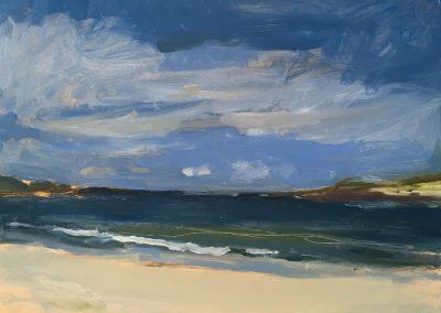 The sea at Dogs Bay, Connemara